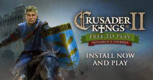 Crusader Kings II Is FREE TO KEEP!