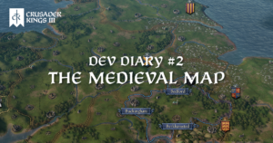 Dev Diary #2: The Medieval Map