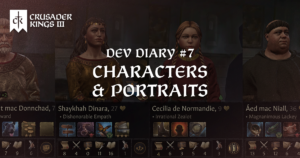 Dev Diary #7: Characters and Portraits