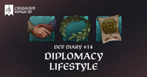 Dev Diary #14: The Diplomacy Lifestyle