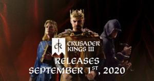 Coronation Day Announced for Crusader Kings III