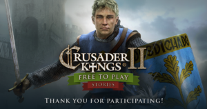 The Winners of the Crusader Kings II Stories Competition