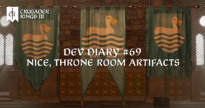 Dev Diary #69: Nice, Throne Room Artifacts!