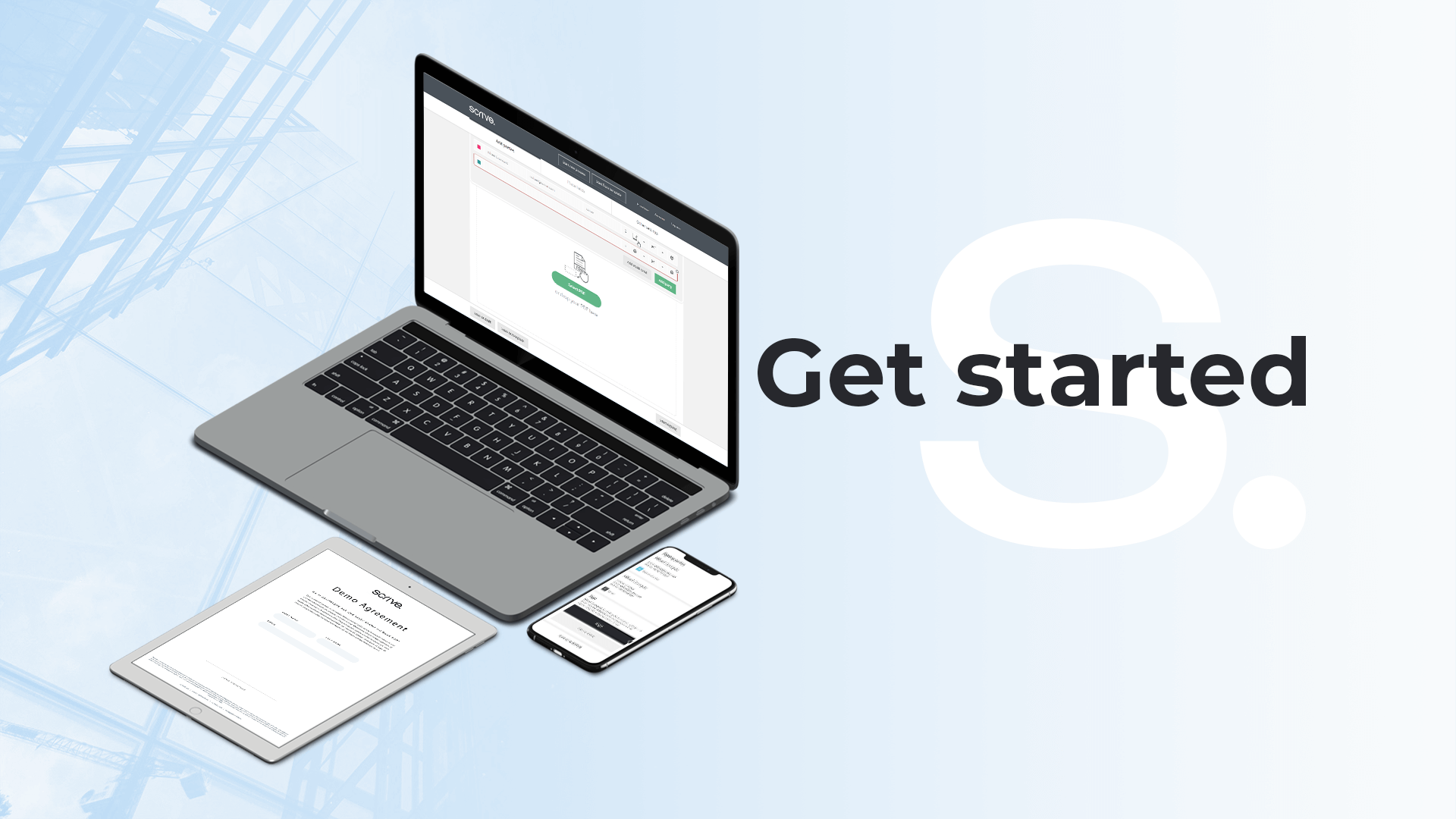 Get started with Scrive