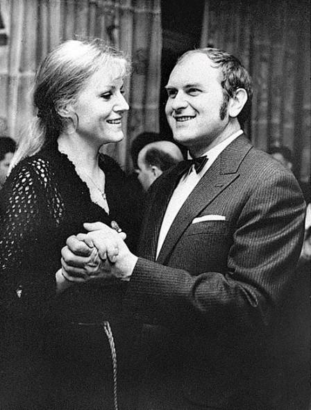 Анна Герман с мужем