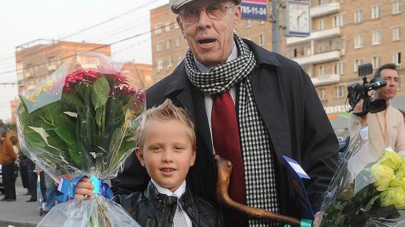 Валерий Золотухин с младшим сыном Иваном