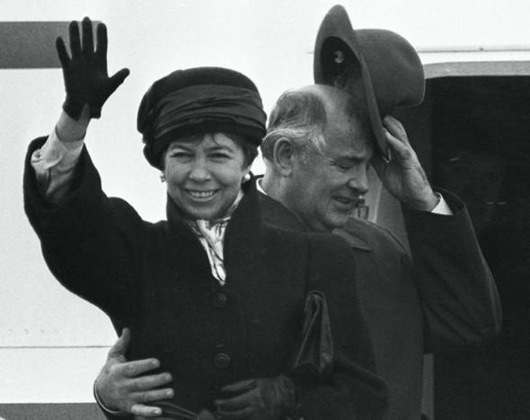 Раиса Горбачева - первая леди СССР