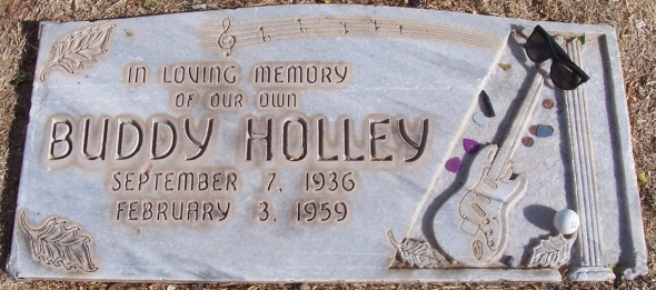 Надгробная плита Бадди Холли — американского певца