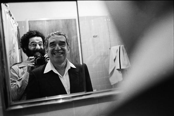 Габриэль Гарсиа Маркес и поэт Аллен Гинзберг