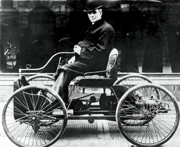 Ford Quadricycle — первый автомобиль, изобретенный Фордом
