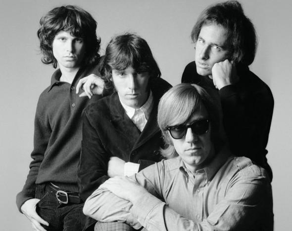 Группа Джима Моррисона The Doors (Моррисон слева)