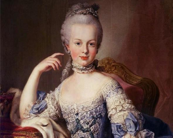 Мария-Антуанетта - портрет