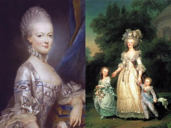 Портрет Марии-Антуанетты