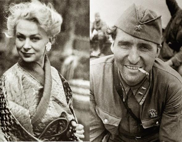Актриса Валентина Серова и Константин Симонов были женаты несколько лет - за их романом следила с замиранием сердца вся страна
