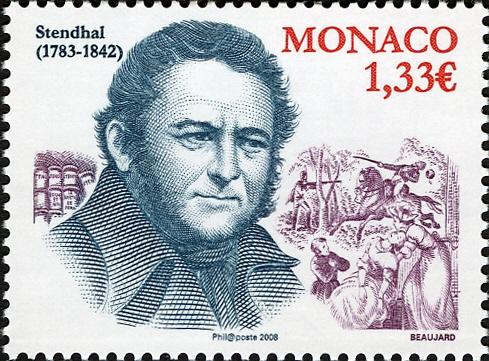 В 2008 г. в Монако в память о Стендале выпустили именную почтовую марку