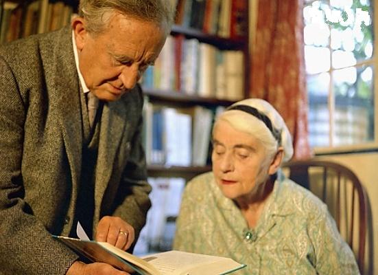 Джон Толкиен с супругой Эдит Бретт