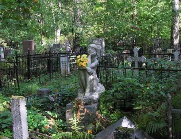 Памятник Бианки на Богословском кладбище, Санкт-Петербург