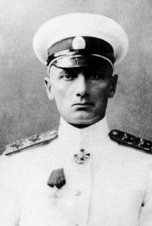 Александр Колчак - командующий Черноморским флотом (1917 г.)