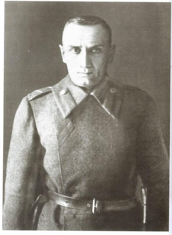 Последняя фотография Колчака в 1920 г.
