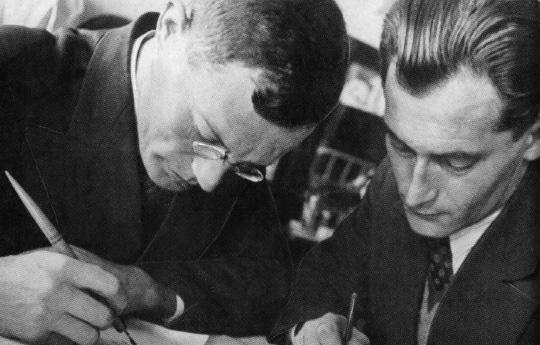 Ильф и Петров в 1932 г.