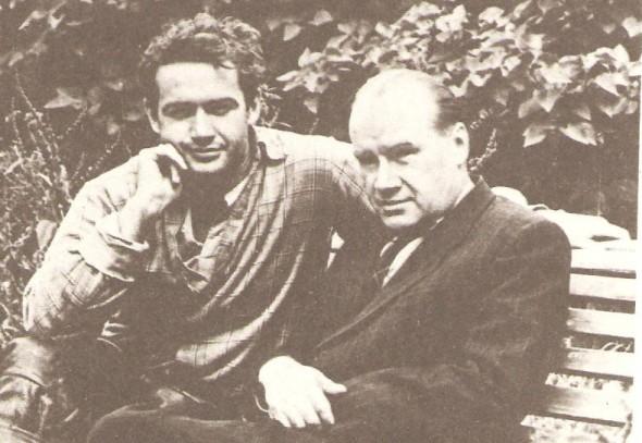 Николай Носов с сыном