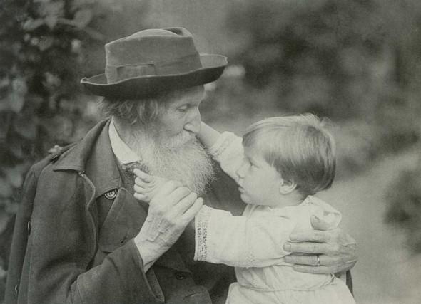 Фото Виктора Васнецова авторства Роберта Йохансона (1921 г.)