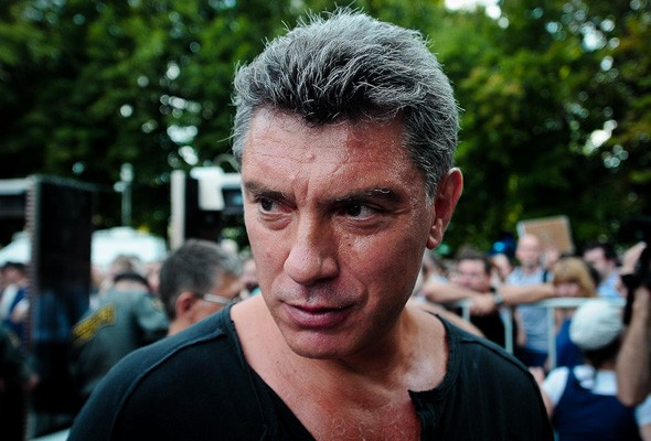 Борис Немцов в 2012 г.
