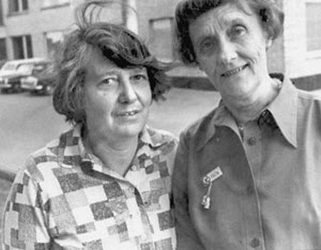 Лилианна Лунгина (слева) и Астрид Линдгрен