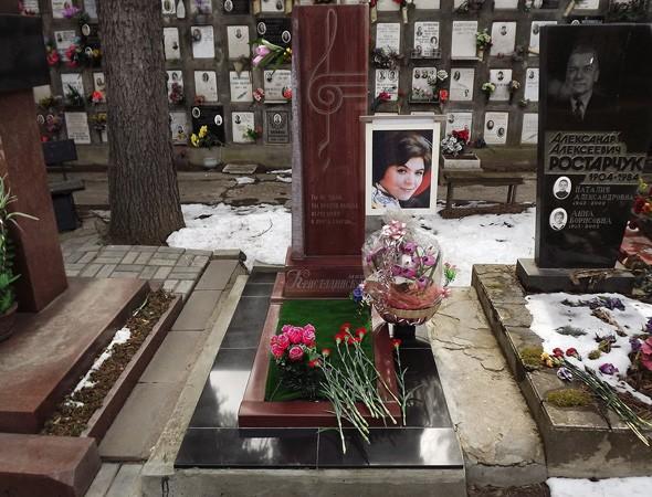 Могила Майи Кристалинской