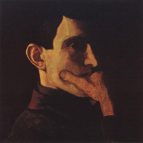 Николай Крымов, автопортрет (1908 г.)