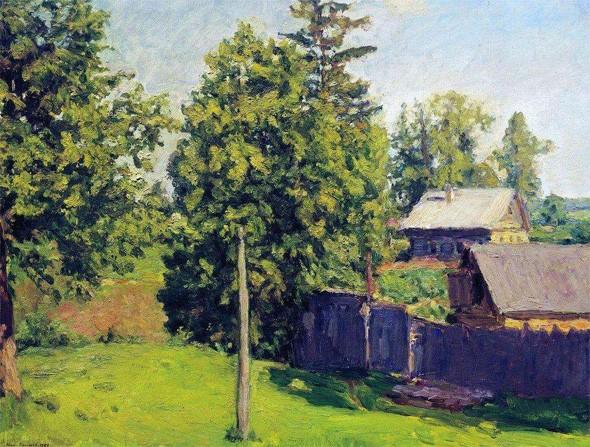 """Николай Крымов """"Когда цветут липы"""" (1947 г.)"""