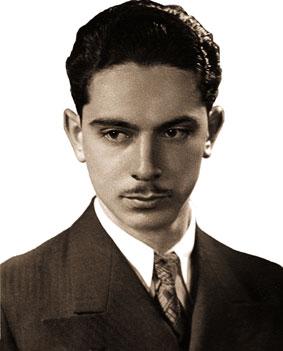 Олег Лундстрем в 1932 г. в Харбине