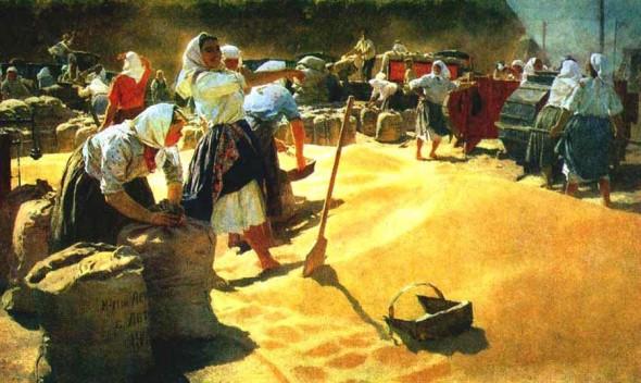 Картина «Хлеб» — самая узнаваемая работа Татьяны Яблонской