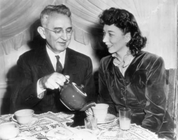 Дейл Карнеги с супругой Дороти