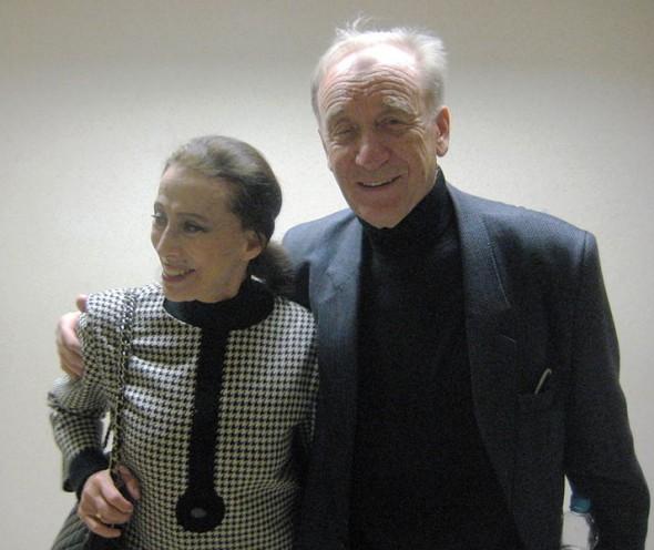 Майя Плисецкая с супругом Родионом Щедриным