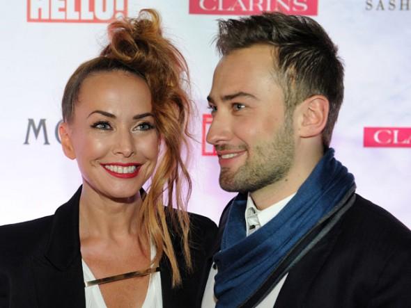 Жанна Фриске с гражданским мужем Дмитрием Шепелевым