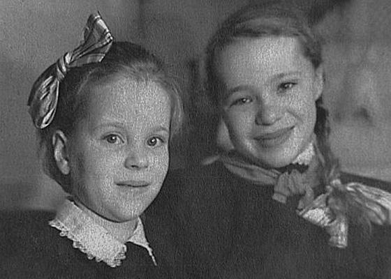 Наталья Крачковская в детстве