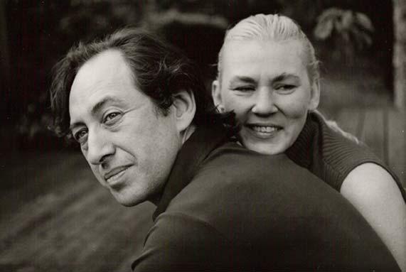 Элвин Тоффлер с женой Хайди Тоффлер в 1986 г.