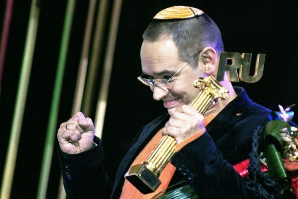 Антон Носик на церемонии вручения «Премии Рунета-2009»