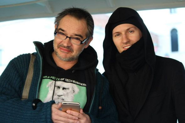Антон Носик и Павел Дуров