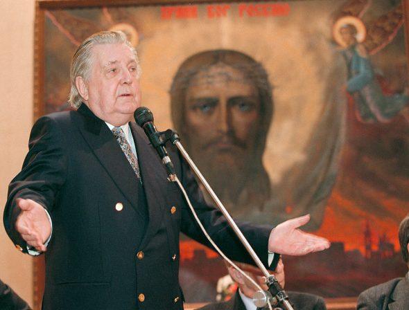 Илья Глазунов был убеждённым сторонником православия и монархии