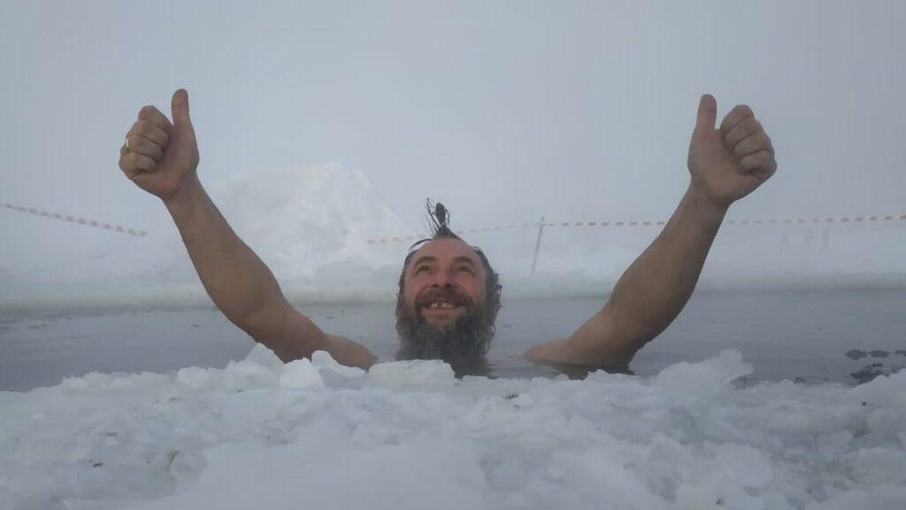 Моисеев Алексей Геннадьевич, новосибирский морж