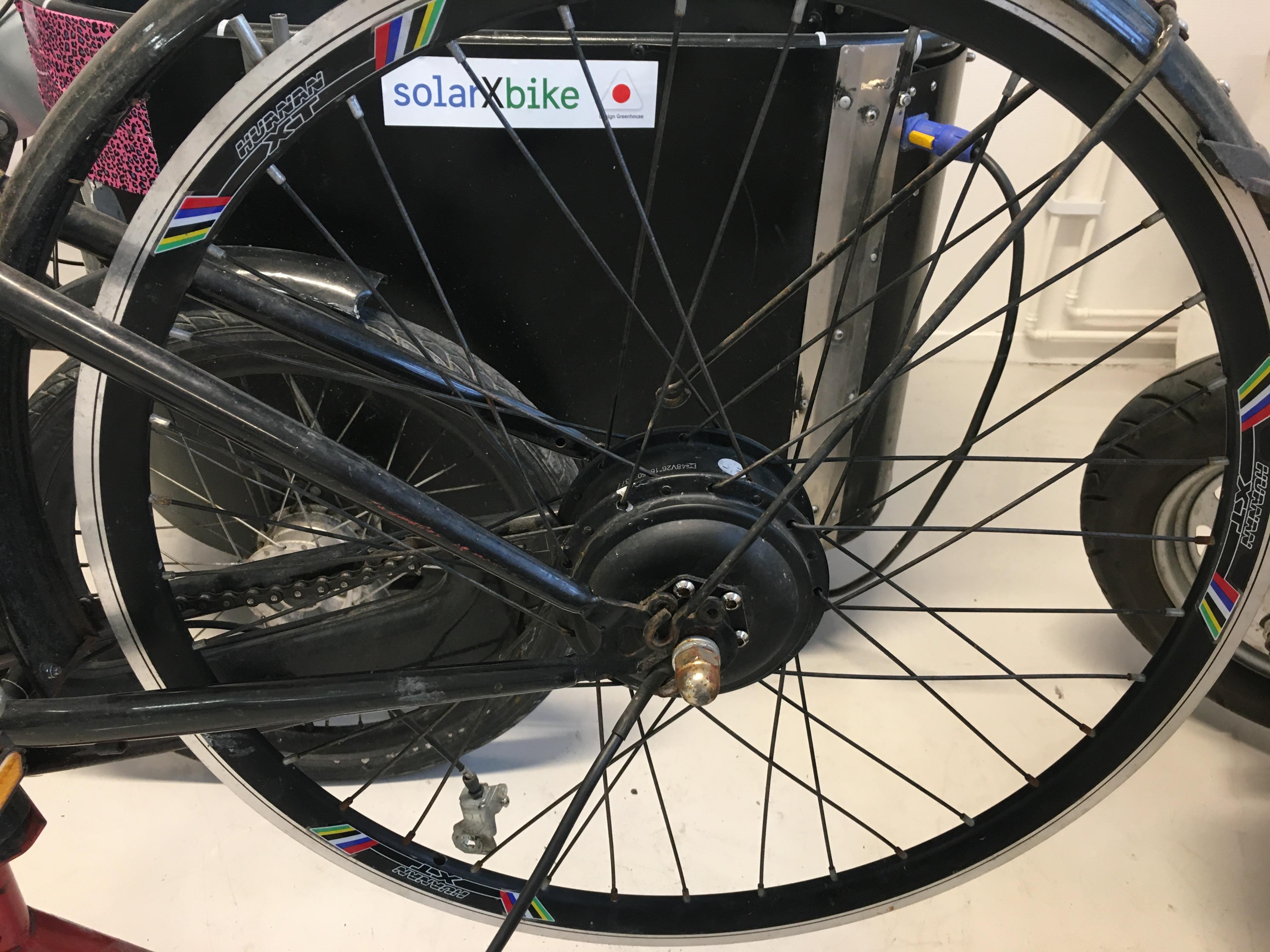 Elektriskt hjul