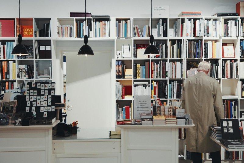 Librairie design Konst-ig, à Göteborg