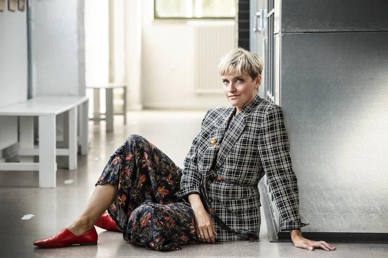 Modedesignerin Anna Lidström