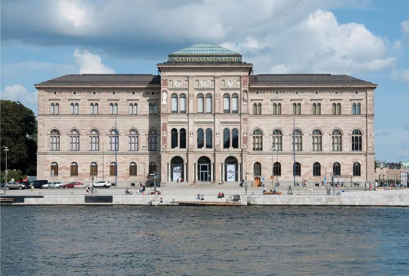 Exterior of Nationalmuseum, Stockholm