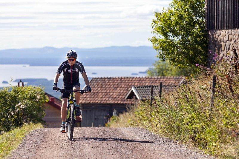 Balade en vélo dans le Dalarna