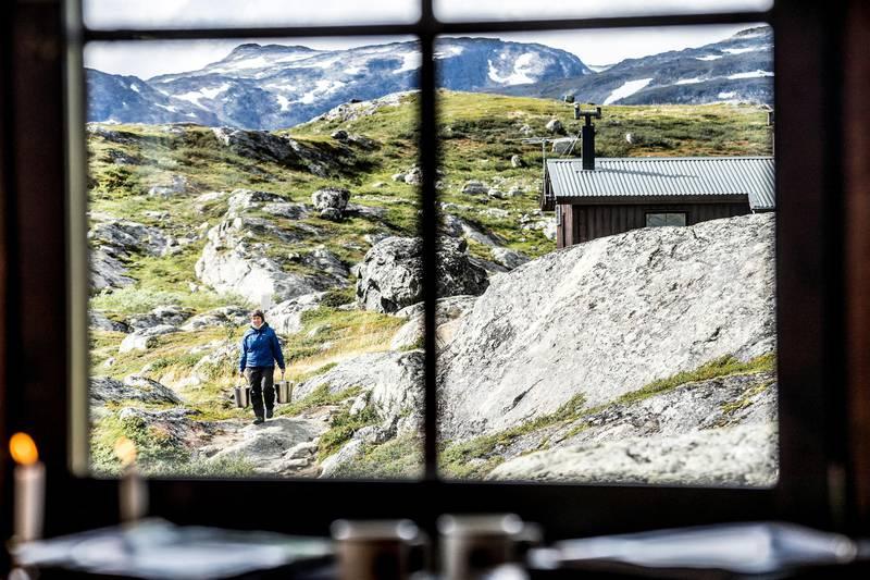 Berghütten des Königwegs, Schwedisch Lappland