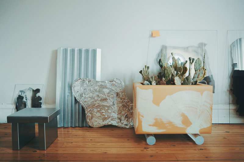 Jenny Nordberg's studio