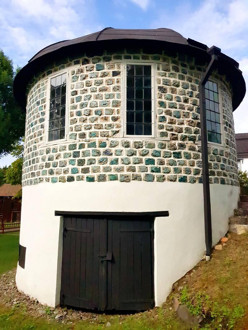 Slag stone tower, Engelsbergs bruk